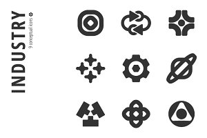 Industry Icon Set №4