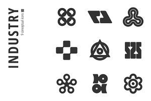 Industry Icon Set №5