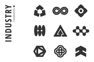 Industry Icon Set №6