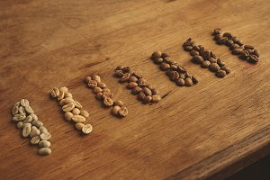 Retail coffee roasting business
