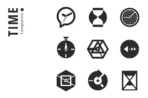 Time Icon Set