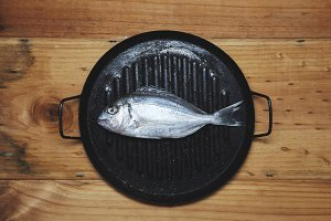 Seadfood, dorada fish