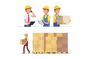 Warehouse and delivery workers