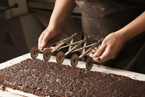 Professional chocolate cake bakery