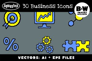 30 Business Icons