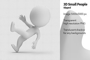 3D Small People - Slipped