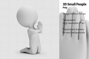 3D Small People - Pray