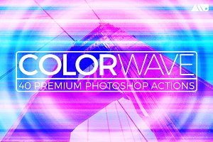 Colorwave Photoshop Action Set