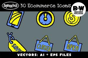 30 Ecommerce Icons