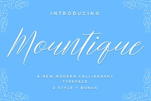 Mountique Typeface