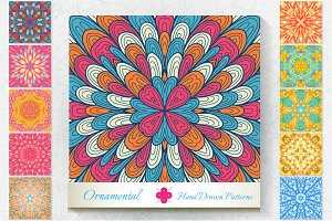 10 Ornamental Patterns. Set#3