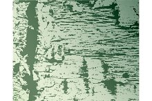 Texture and pattern of wood on green