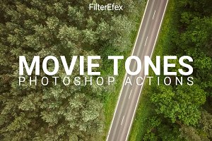 Movie Tones Photoshop Actions