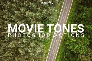 Movie Tones Photoshop Actions