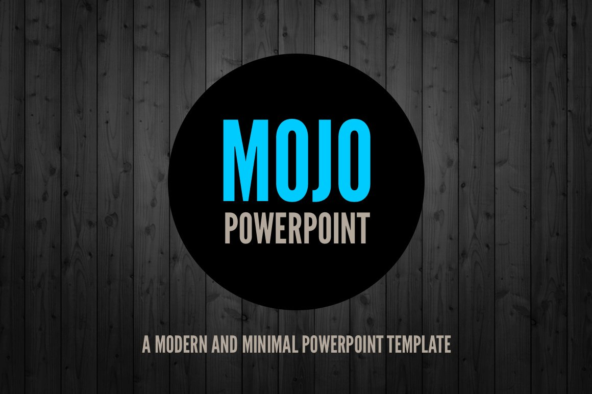 Mojo minimal powerpoint template presentation templates mojo minimal powerpoint template presentation templates creative market toneelgroepblik Gallery