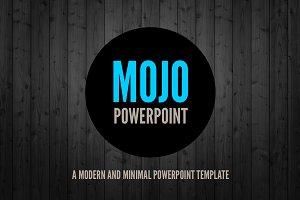MOJO: Minimal Powerpoint Template