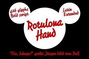 Rotulona Hand -font-