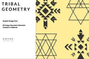 Tribal Geometry Design Kit
