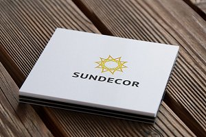 Sundecor Logo Template