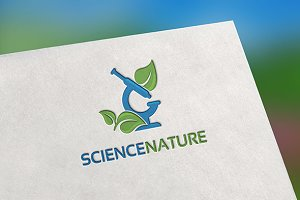 Science Nature Logo