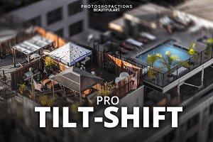 Pro TILT-SHIFT Photoshop Actions