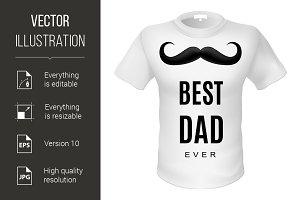 T- shirt best dad