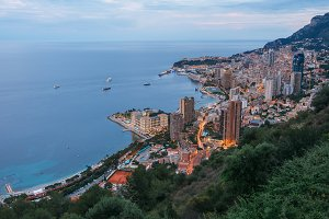 Monte Carlo  by evening