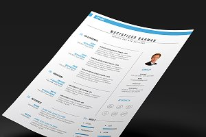 résumé templates amber resume templates creative market
