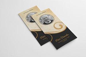 Trifold Funeral Brochure-V542