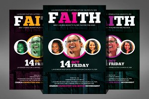 Women of Faith Church Flyer Template