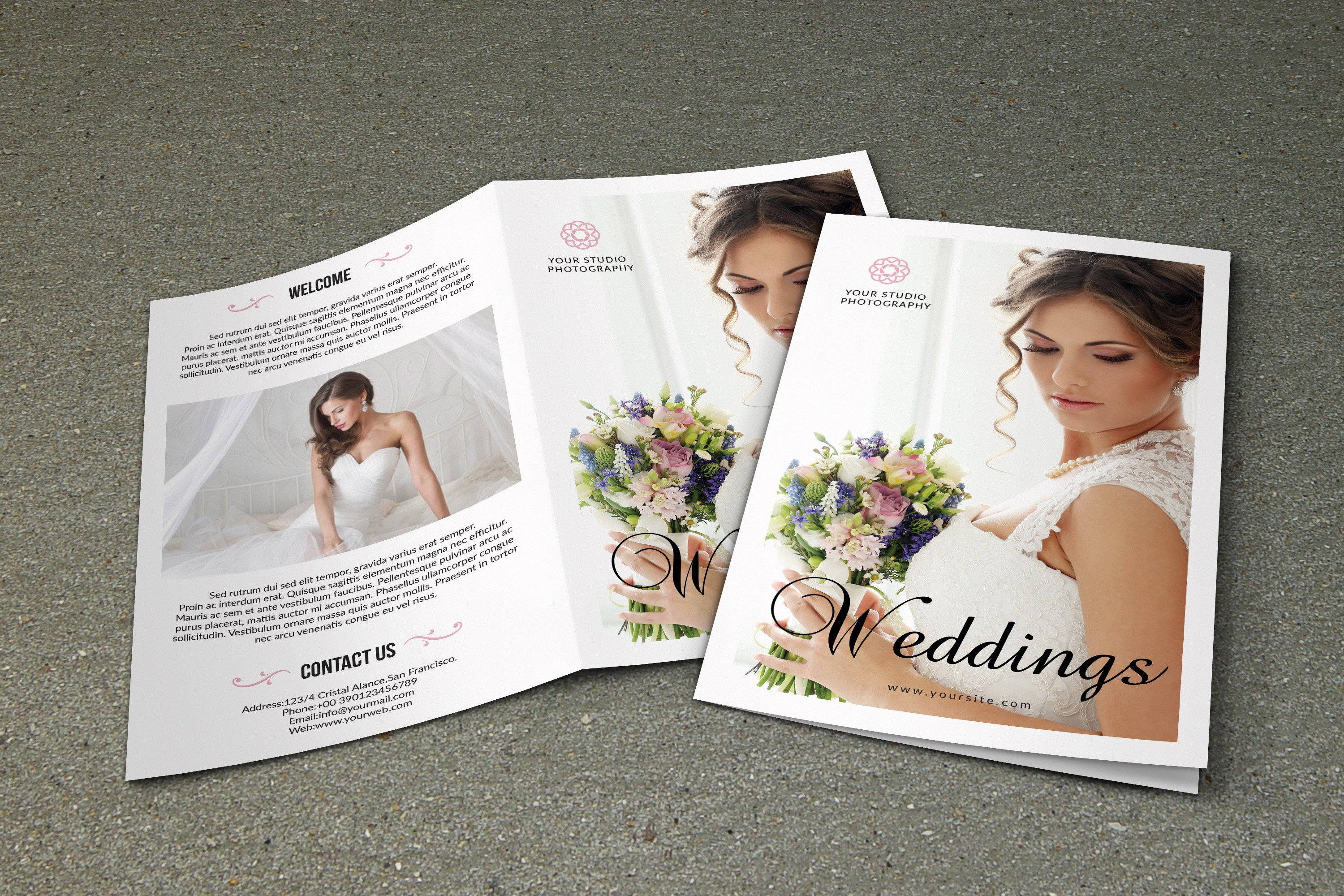 Wedding photography brochure v543 brochure templates for Photography brochure templates free