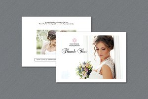 Photographer Thank You Card-V325