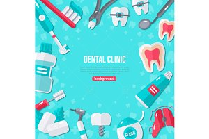 Dental background