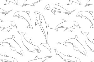 Dolphins set pattern