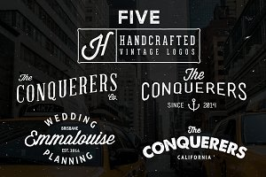 Hand Crafted Vintage Logos