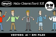 Male Character Construction Kit