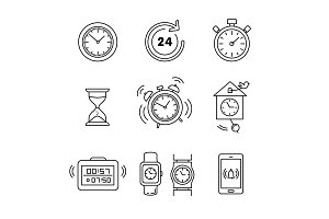 Types of alarms clocks