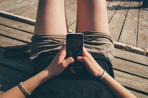 Texting Via iPhone