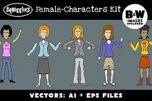 Female Character Construction Kit