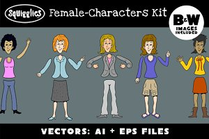 Female Character Construction Kit