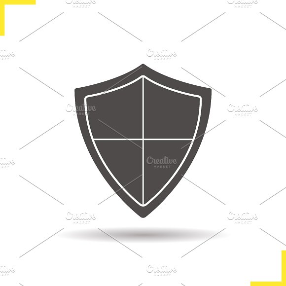 Shield icon. Vector - Icons