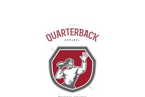 Quarterback Apparel Logo