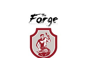 The Forge Blacksmith Logo