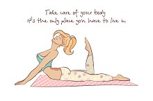 yoga illustration motivation