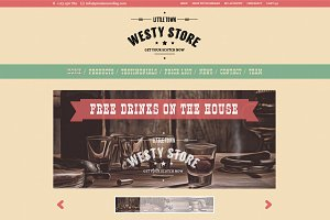 Westy - A cowboy WooCommerce Theme