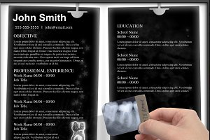 """Dentist "" Template Resume"