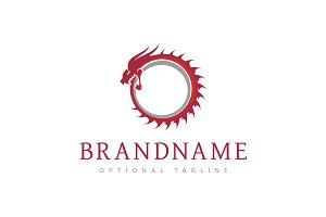 Ouroboros Dragon Logo