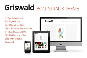 Griswald Bootstrap Theme