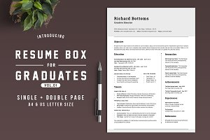 Resume Box for College Graduates V.1