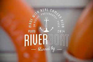 60%off RiverBoat blurred backgrounds